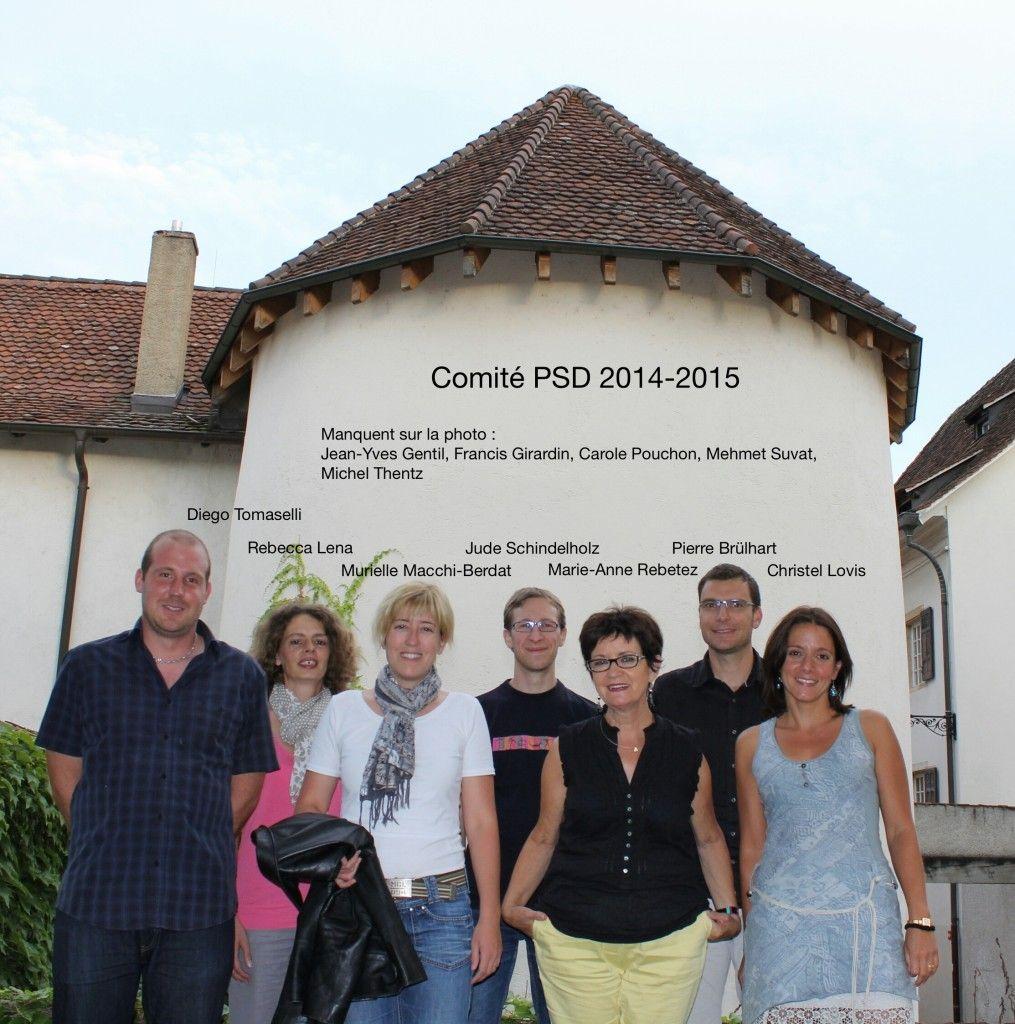 Site internet PSJ Comité PSD 2014-2015