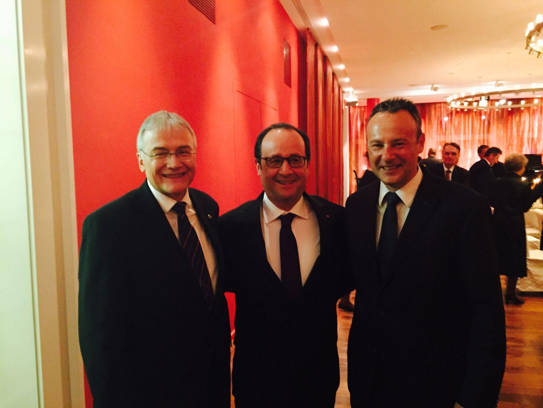 15 avril 2015: François Hollande en visite officielle à Berne