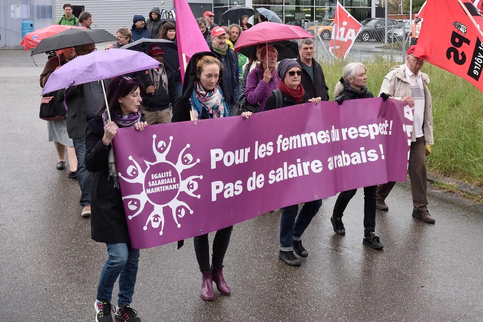 1er mai 2017 interjurassien à Delémont (copyright: PSJ) Photos de Georges Henz