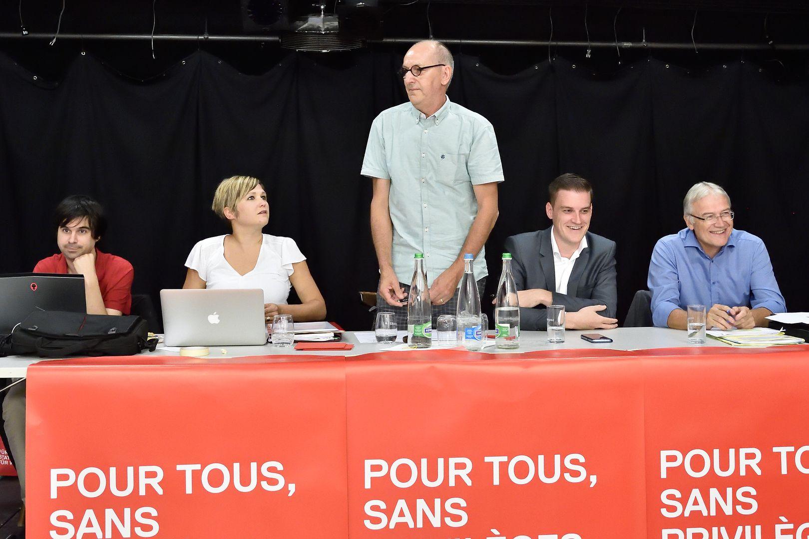 Congrès du 30 août 2017 à Saignelégier (copyright: PSJ) Photos de Georges Henz