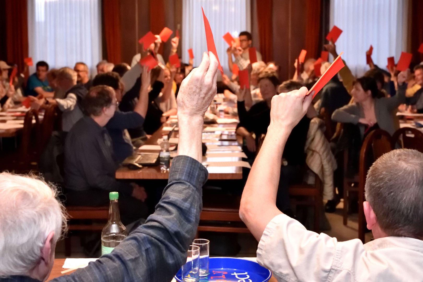 Congrès ordinaire du PSJ – 16 mai 2018 à Boncourt (photos: Georges Henz / copyright:PSJ)