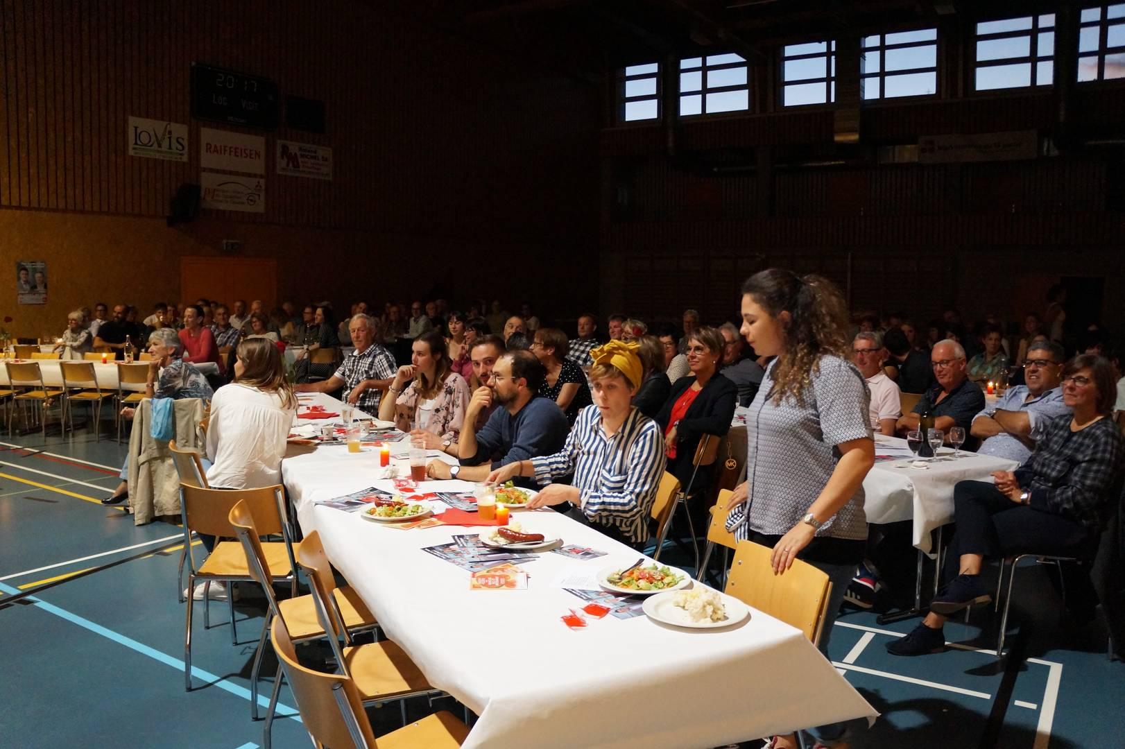 Congrès électoral et festif à Glovelier, 13 septembre 2019