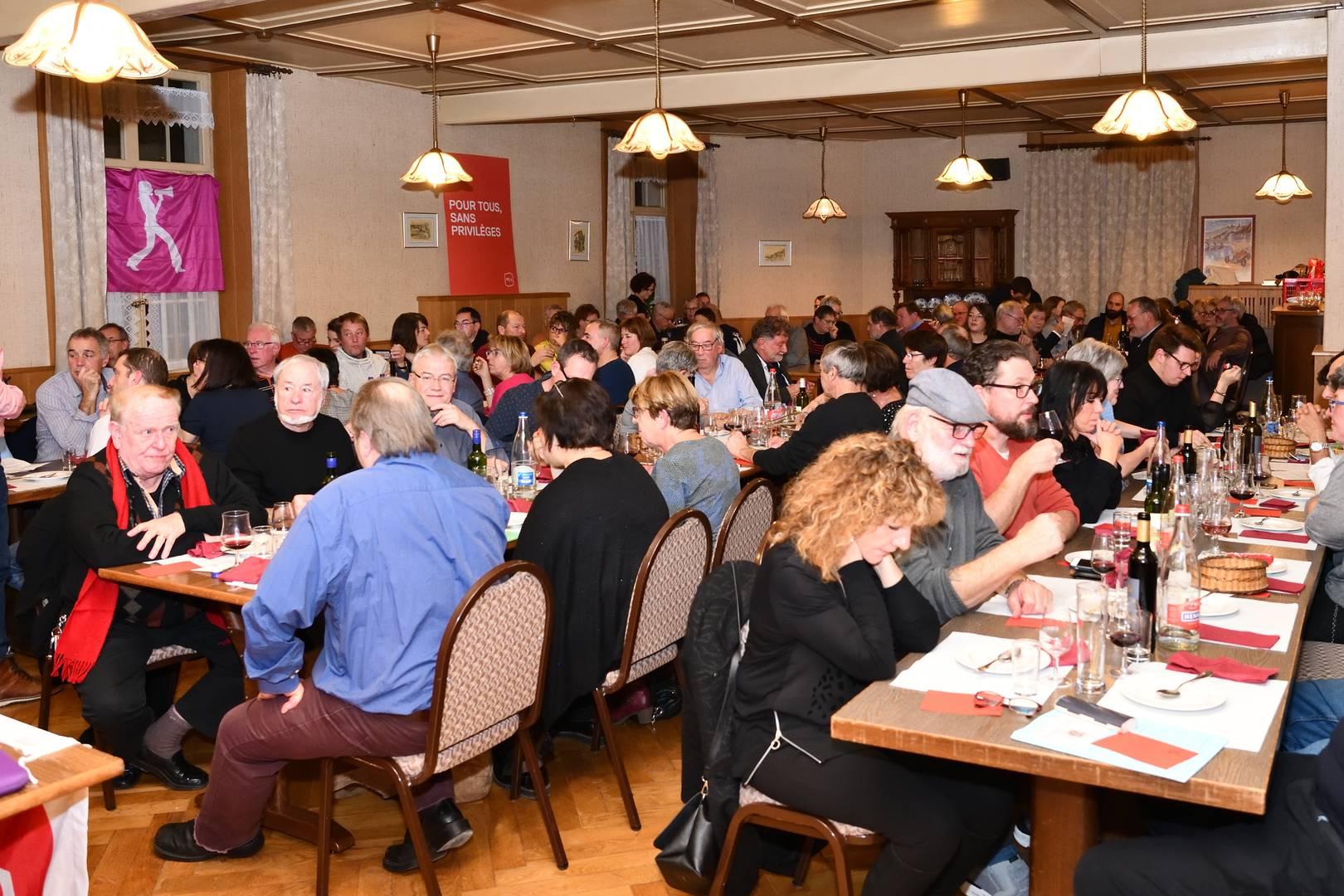 Congrès de St-Ursanne, 6 décembre 2019 (photos: Georges Henz)